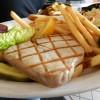 Grilled Tuna Steak**